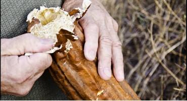 Мочалка из люффы своими руками
